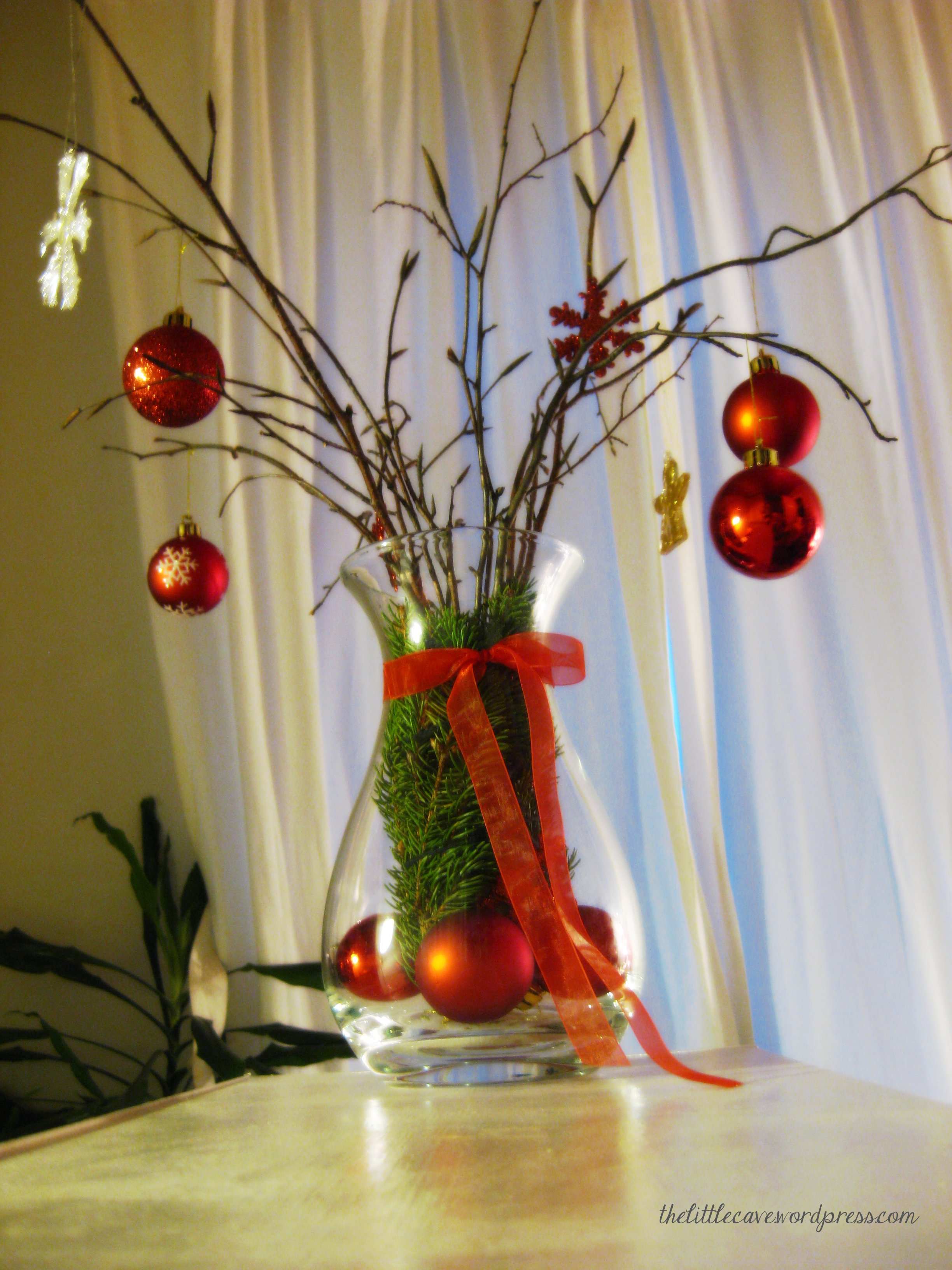weihnachtsvase / christmas vase | the little cave